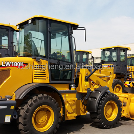 China Famous Brand XCMG mini small 1.8 Ton Wheel Loader for Sale in UK