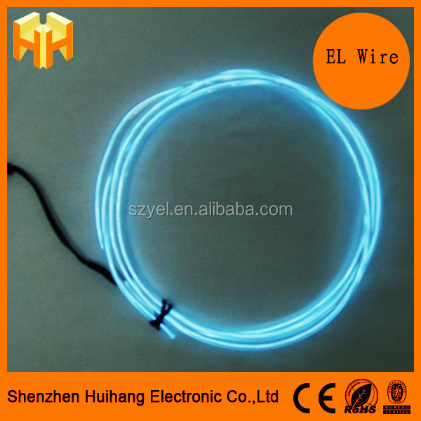 New Polar light 2.6mm EL Wire With Higher Brightness