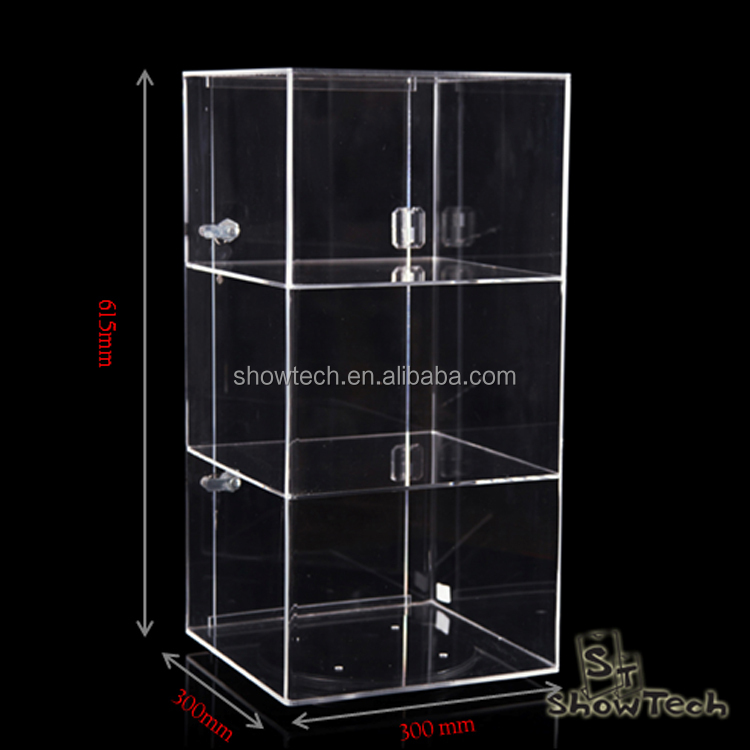 Factory clearance sale removable acrylic rotating shot glass display stand ST-RSC-C-02