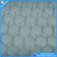 Free sample galvanized chicken hexagoanl wire mesh / hexagonal wire mesh different sizes