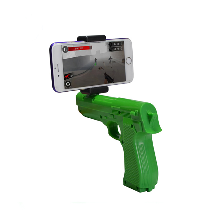 New product virtual reality shooting game toy gun AR gun for kids& adults