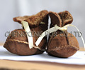CX-SHOES-01 Warm Soft Genuine Sheep Skin Fur Baby Shoe