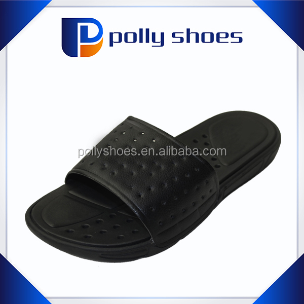 Men EVA Beach Slippers soft pu upper Bathroom Slippers