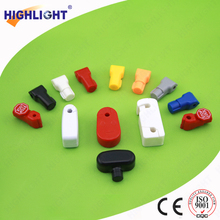 Highlight ABS hook lock for cell phone accessories