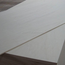 9mm Okoume Plywood with Poplar Core and Melamine Glue