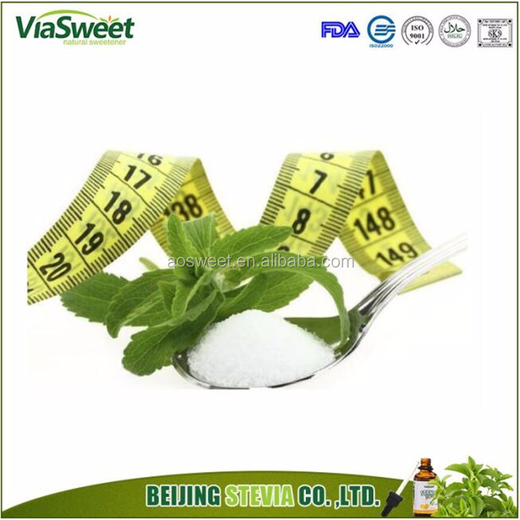 Low calorie sugar substitute of diabetic stevia sugar