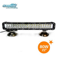 CREE high power led car lighting lamp off road truck headlight led waterproof light bar SM6022-80