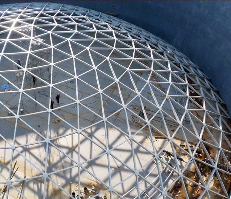 Gebogene Space Frame Glas Dachkonstruktion Baustahl Schuppen - Buy ...
