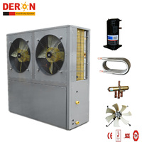 OEM air source heat pump cooling water chiller/ hot water from China supplier(CE CB certification, side fan 10P)
