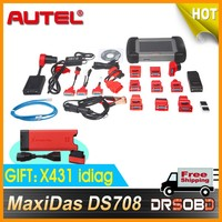 [AUTEL Distributor] 2014 Christmas MaxiDas DS708 original gift free a idiag work with iphone