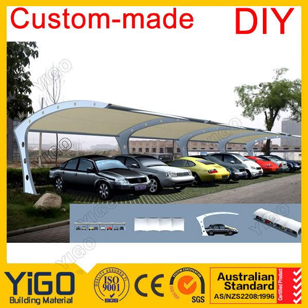 Carport metallo kit edifici in acciaio canada posto auto for Piani garage separati con posto auto coperto