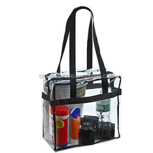 Clear pvc bag transparent beach bag