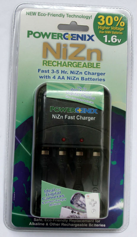 black five hour intelligent fast charger for POWERGENIX1.6V nickel-zinc rechargeable battery chargers for aa/aaa batt