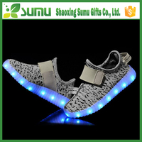 2016 New Style Colorful Running Sport/Casual Changeable Color light up kids led shoes