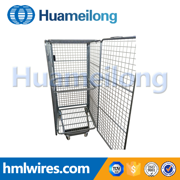 Free sample metal laundry transport trolley