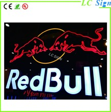 Neon light letters sign for decoration popular in USA