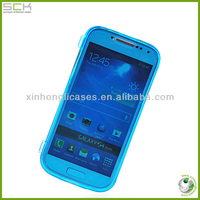 Wholesale soft touch hybrid case for samsung s4 galaxy