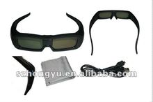 Popular Cheap Universal Active Shutter 3D Glasses for Theater