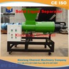 China CW series large capacity eco-friendly screw press chicken dung dewater machine