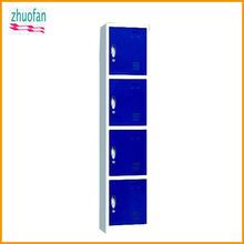 4-door cheap folding steel or iron cupboard wardrobe