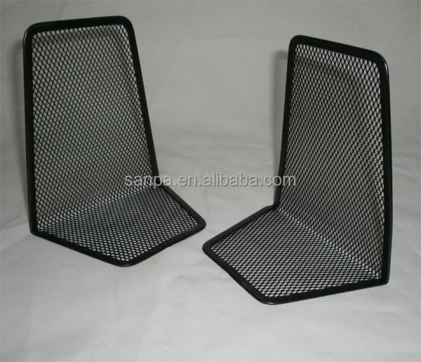 Modern L Shape Metal Mesh Cheap Own Bookends