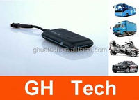 GH Car cell phone gps tracking software G-T002 9-50V voltage no backup battery