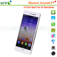 cheap price android 4.4 phone Huawei P7 Kirin 910T Quad cores 5 inch 16GB android 4.4