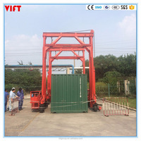 36ton mast mobile container crane for transportation