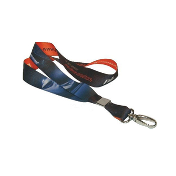 Custom sublimation lanyard