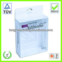 cd box set packaging/foldable plastic box/transparent box packaging