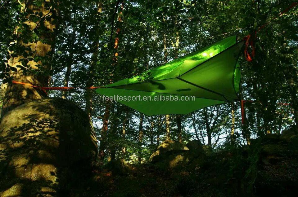 easy folding light weight hammock hiking tent