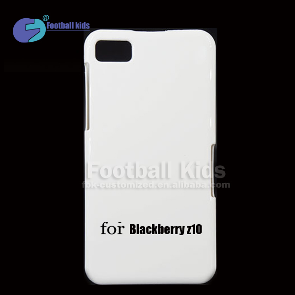 Sublimation Printing Mobile phone Cover Case /blank phone Case for Blackberry Z10