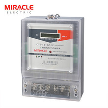Wenzhou factory 3 phase 4 wire digital panel mounted kwh meter