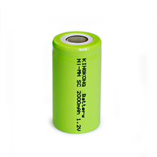 Cordless Home Phone Rechargeable Battery C SIZE Ni-MH/NiMH Batteries/Cells Packs 2000mAh Manufacturer battery NH-4/5SC2000MAH