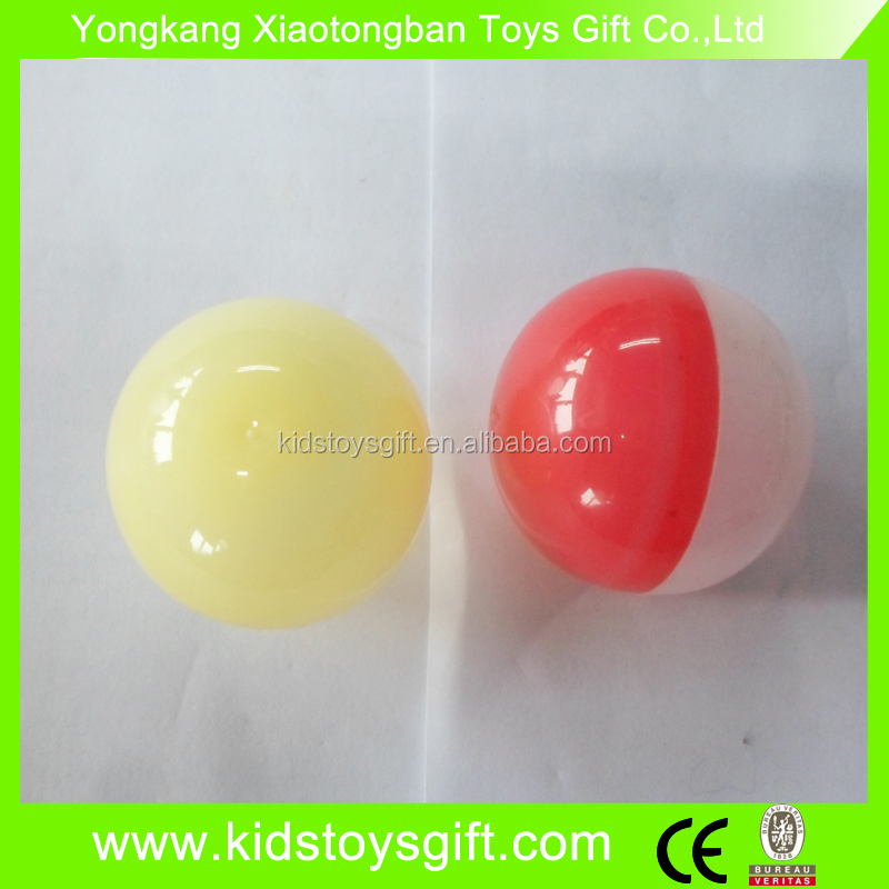 75mm vending capsule for vending machine/cheaper empty capsule toy/promotion plastic toy