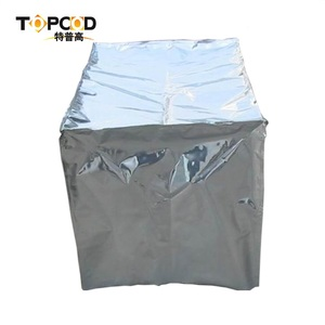 Three-dimensional aluminum foil bags that can be customized for use in molds and machines