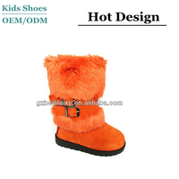2014 Cheap Child Snow Boots Buckle Kids Snow Boots Baby Wool Shoes