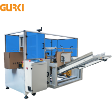 Gurki Gpk-40 Carton Case Box Forming Machine Met Tape Afdichting