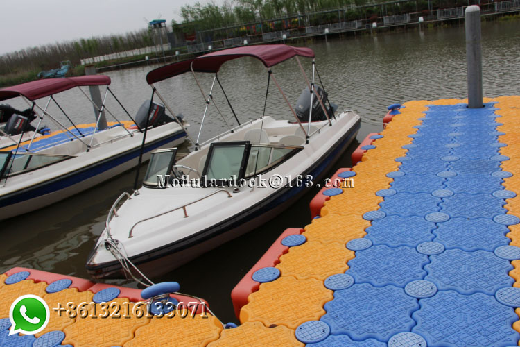 Modular floating  dock (1)