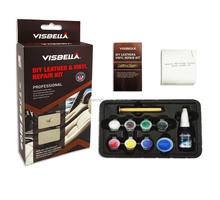Visbella Complete Leather recolor and protect Care Restoration & Repair Kit - Best Water Repellent Formula