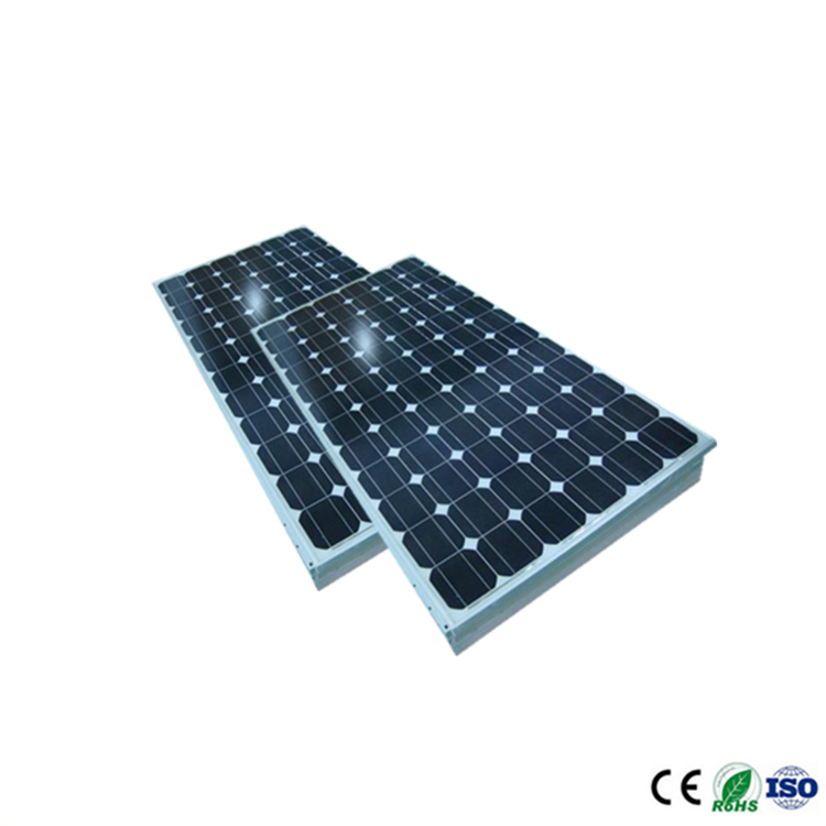Best price mono 24V 210W 200W 190W 72 cell mono 125 rollable solar panel