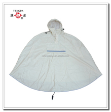 high visibility bicycle rain poncho