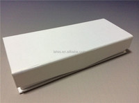 White lamination paper packaging gift boxes with foam insert design