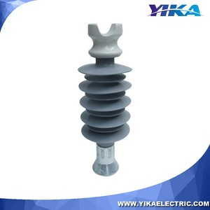Yika IEC 11KV 33KV Polymeric Composite Line Post Pin Insulator Insulation