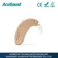 AcoSound 410 CIC 4channels digital programmable BTE hearing aids