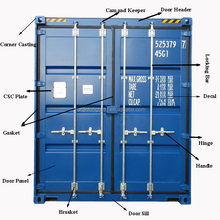 Full Set of 20 ft 40 foot Shipping Container Spare Parts