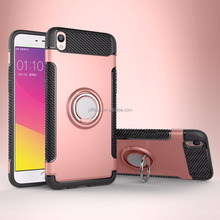 Phone accessories Manufacture Best quality 3 in 1 Magnetic Ring stand Android Mobile phone case for Oppo F1s / A59