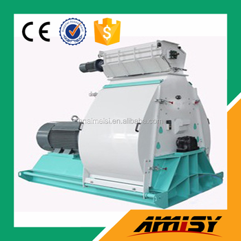 Multifunctional high output water drop hammer mill crusher