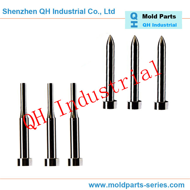 Non Standard Mold Parts ODM MISUMI Vacuum Heat Treatment Tungsten carbide punch pin