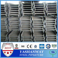 YSW metal structural steel i beam size standard length price